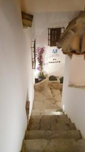 El Arriate escaleras
