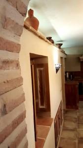 El Arriate detalle pared